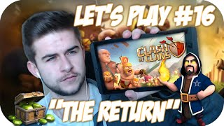 "★Clash Of Clans | Let's Play ""THE RETURN"" So Many Gems + Final Townhall Upgrades Live Episode 16★"