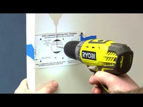 How To Install A Deadbolt Lock - D.I.Y. At Bunnings