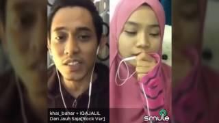 Khai Bahar ft Iqa Jalil Dari Jauh Saja Smule Cover