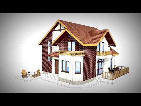 Proiecte case mici americane tip bungalow doovi for Proiect casa clasica b 178 m