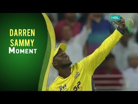10 Feb: Match 3 Karachi Kings v Peshawar Zalmi - Darren Sammy Selfie Momment