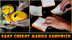 Easy Cheesy Mango Sandwich for Summers | Snacks | @Guru's Cooking