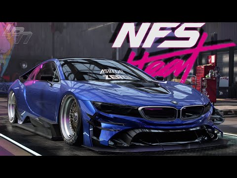 need-for-speed-heat---bmw-i8-tuning-+-gameplay!