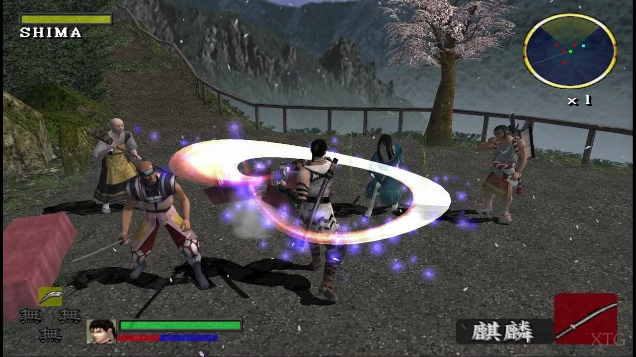 blade ps2 - jogo de espada ps2
