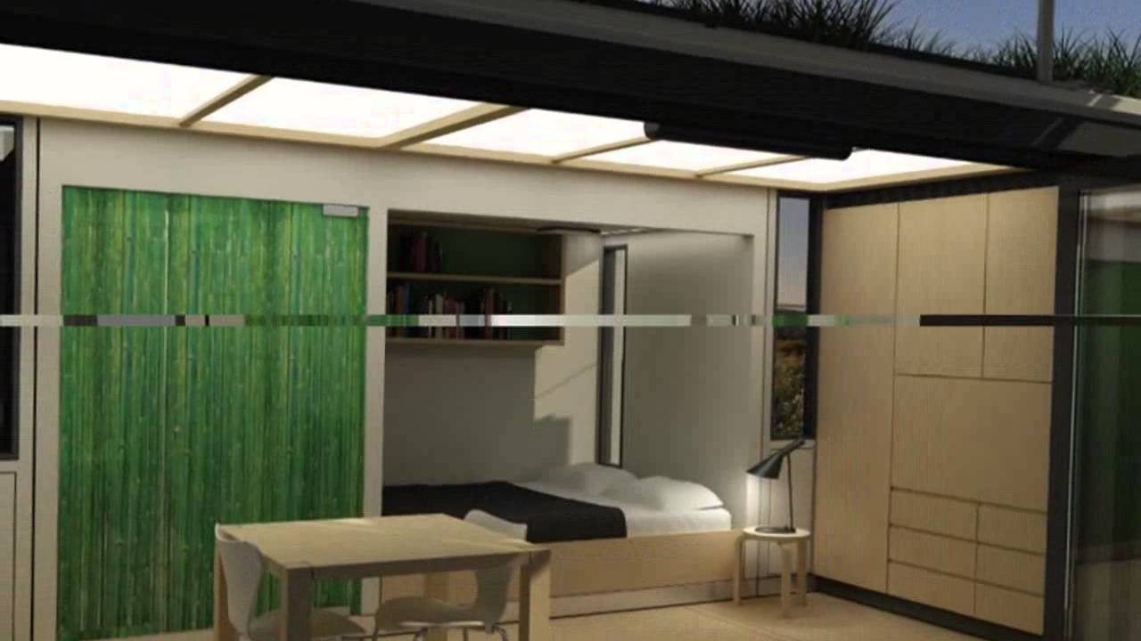g-pod designs dwell container house for transportable living - youtube