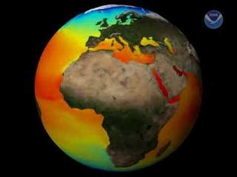 Average Ocean Temperatures