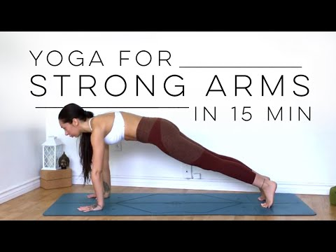 10 Minute Yoga Workout For Arm Strength & Toned Arms