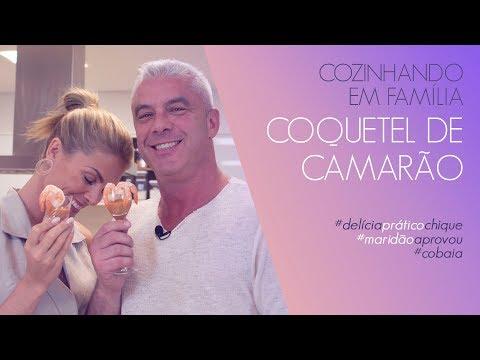 COQUETEL DE CAMARÃO - COZINHANDO EM FAMÍLIA  ANA HICKMANN