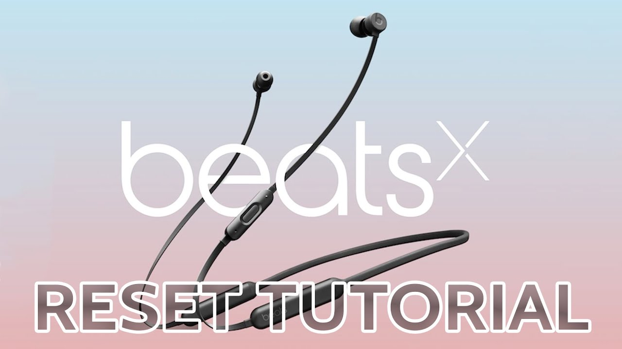Beats Wireless Headphones Flash Red And White Wire Center Ad8225 High Resolution Analog Digital Converter Adc Circuit Diagram Datasheet How To Reset X Beatsx Earbuds Joesge Youtube Rh Com Monster