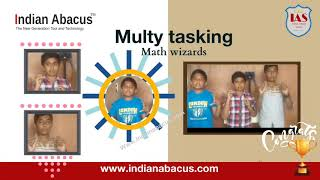 IndianAbacus Math wizards- with 100% concentration