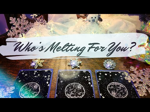 Pick a Card 🥰 Love Reading   Who Is Melting/Falling For You? 😍 ☃️
