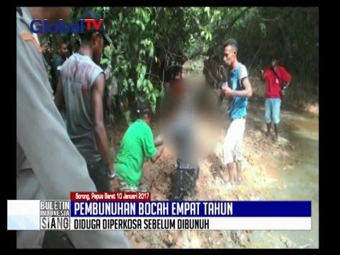 [SADIS!!!] Diperkosa, Jasad Bocah 4 Tahun Dikubur di Lumpur - BIS 12/01