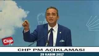 CHP PM AÇIKLAMASI  29/11/2017