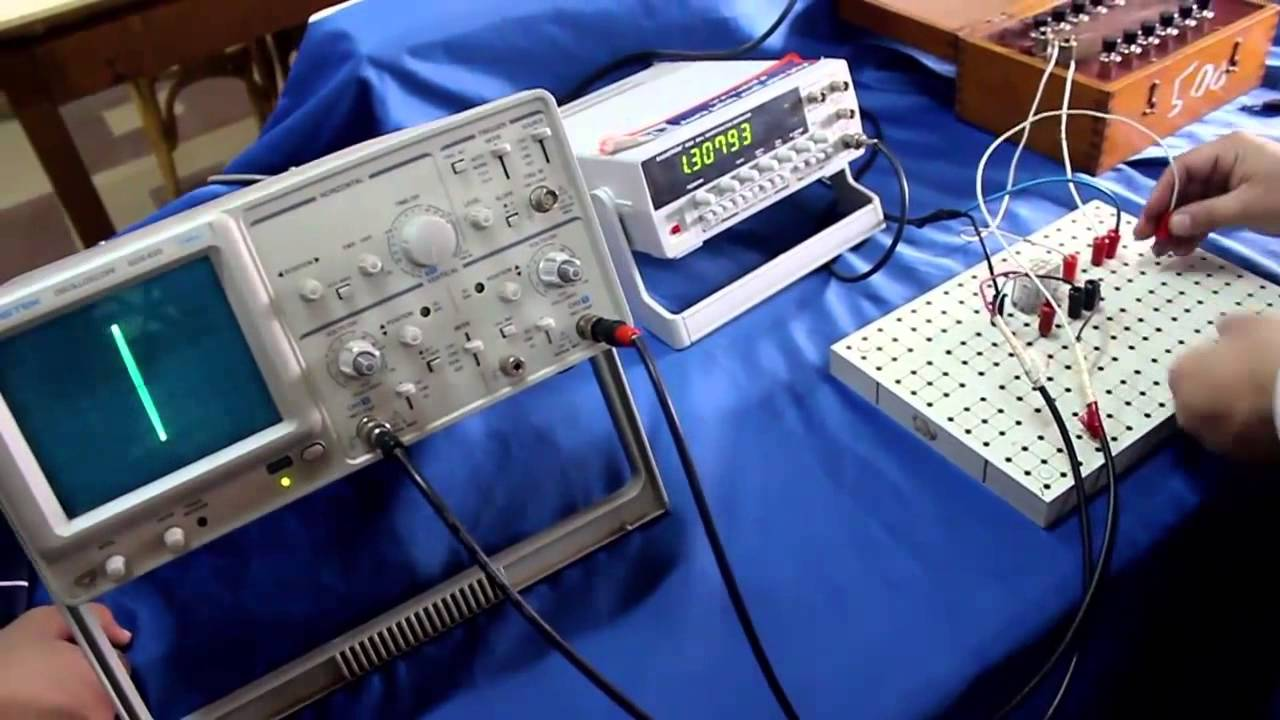 Cathode Ray Oscilloscope : Physics lab exp cathode ray oscilloscope youtube