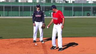Corrective Video: INFIELD | READY POSITION - FOOTWORK