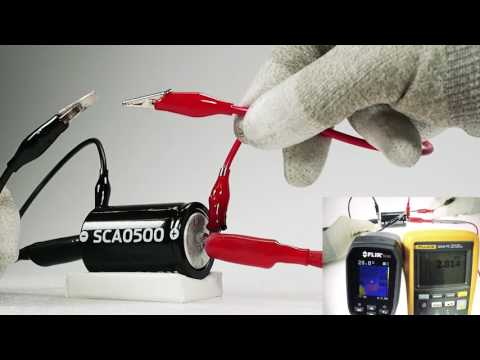 Skeleton Technologies - ultracapacitor safety testing - YouTube
