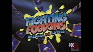 "Fighting Foodons | Prepare For Battle | Intro | 2003 | Fox Box Fighting Foodons (格闘料理伝説ビストロレシピ Kakutō Ryōri Densetsu Bisutoro Reshipi, ""Martial Arts ..."