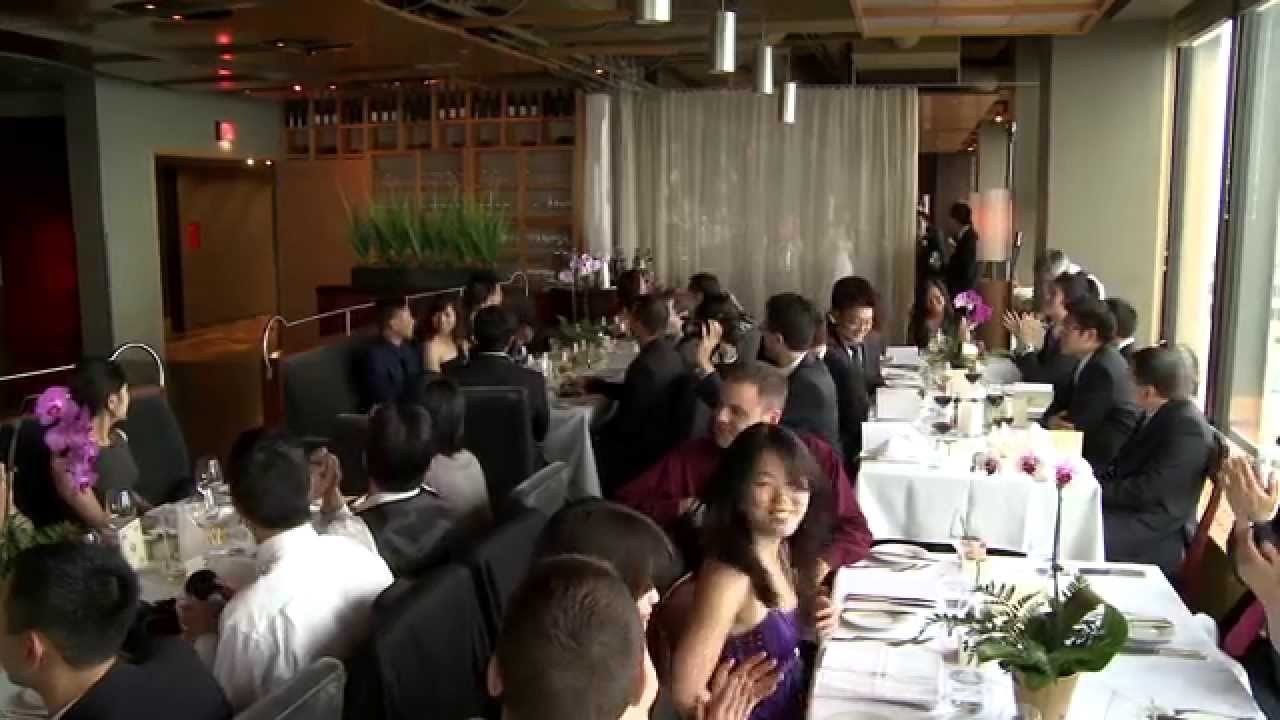 Grand Entrance A Chinese Wedding Video Canoe Restaurant Bar Dominion Bank Tower Toronto You
