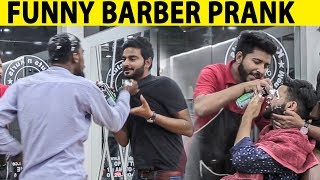 Funny Barber Prank and Mad Assistant - Lahori PrarnkStar
