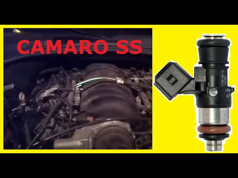 How to Change Fuel Injectors on a 2013 Camaro SS
