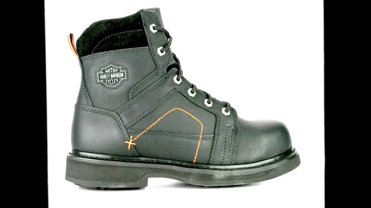 Men's Harley Davidson D95326 Steel Toe Side Zipper Work Boot ...