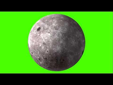 3d moon green screen spin footage (hdgreenstudio)free use thumbnail
