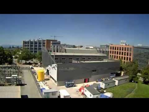 Campus Energy Centre Construction Timelapse