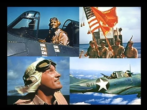 "John Ford's ""The Battle of Midway"" (1942) Digitally Restored Color"
