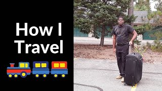 How I travel as A Visually impaired Person