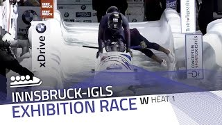 Innsbruck-Igls | BMW IBSF World Championships 2016 - 4-Woman Exhibition Heat 1 | IBSF Official
