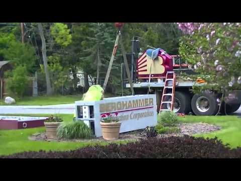 Berghammer Construction gets a new sign    in 30 Seconds