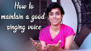 Ep #39 | How to maintain a good singing voice?
