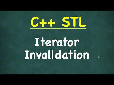 Iterator Invalidation | C++ STL (Standard Template Library)