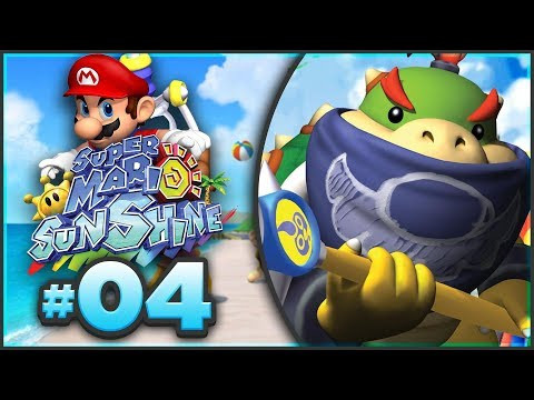 Super Mario Sunshine 100% Walkthrough | ALL Pinna Park Shine Sprites! [Episode 4 🔴LIVE]