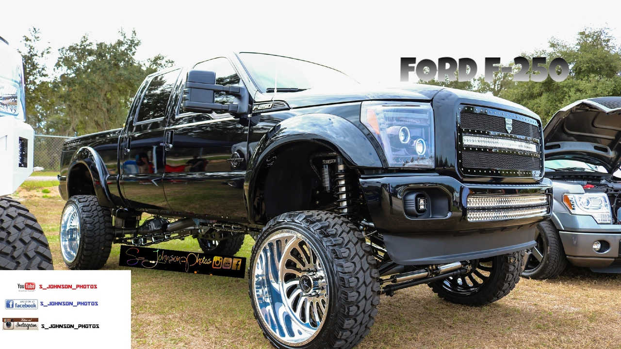 American Force Dually Wheels Black >> Super Clean Ford F- 250 on American Force wheels in HD (must see) - YouTube