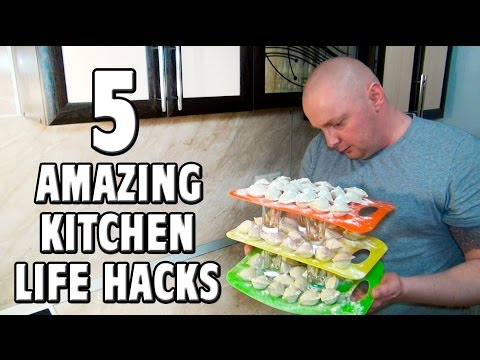 5 amazing kitchen life hacks everyone must know youtube for 9 kitchen life hacks