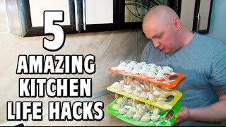 5 Amazing Kitchen Life Hacks Everyone Must Know