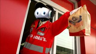 My McDonalds has a robot at their drive-thru