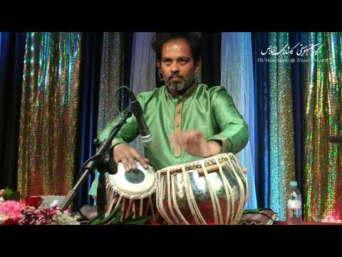 Ustad Shahbaz Hussain - TABLA SOLO (Teental)   at The Music Room
