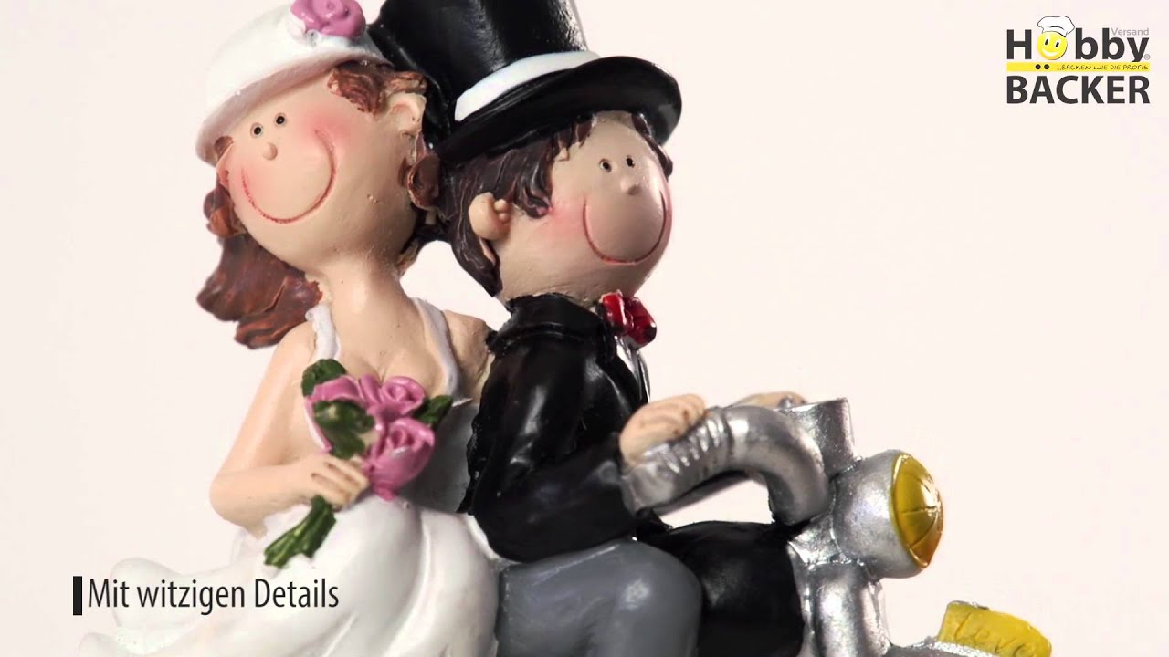Hobbybacker Produktfilm Brautpaar Auf Motorrad Youtube