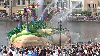 東京ディズニーシー サマーオアシス・スプラッシュ 2011年8月4日、2回目...
