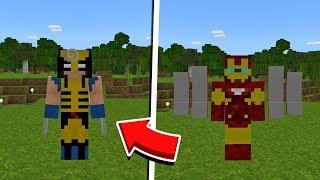 мод на СуперГероев для Minecraft 1.14