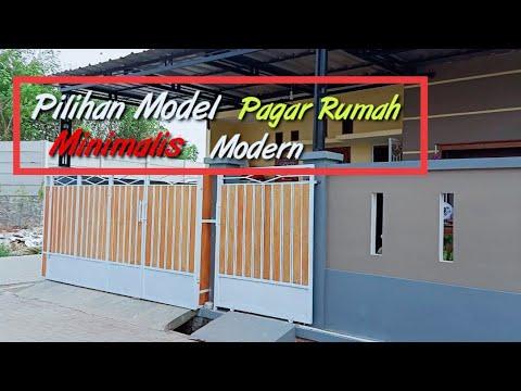 Kumpulan Desain Pagar Rumah Minimalis L Rumah Subsidi Type 60 L Youtube
