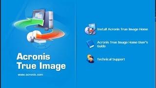 Acronis True Image создание резервной копии как записать на флешку или диск