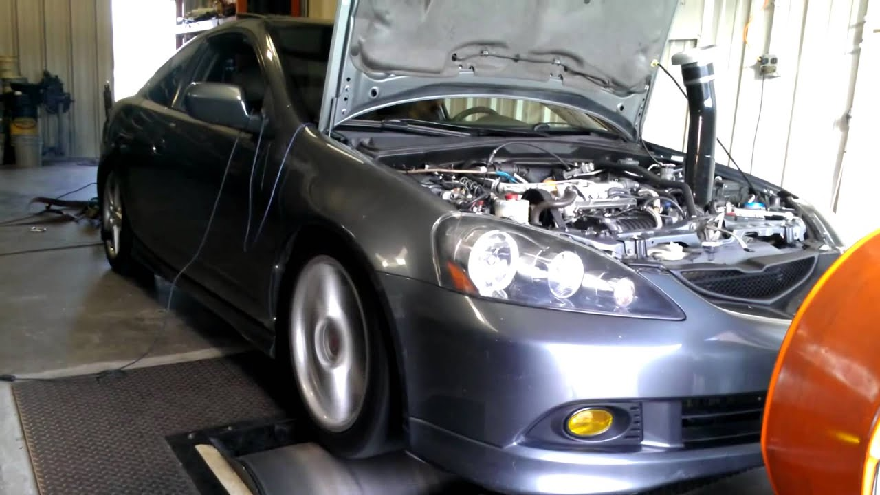 Supercharged RSX dyno
