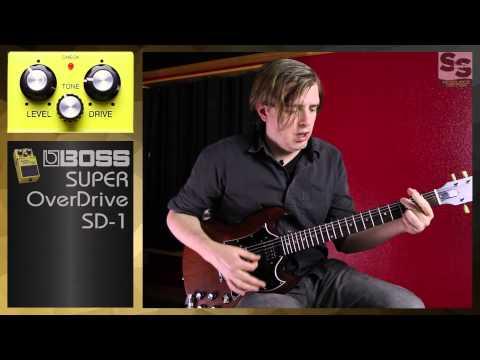 BOSS SD 1 Super Overdrive Guitar Pedal Explained Demo