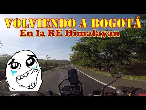 De Ibague a Bogota- enla RE Himalayan