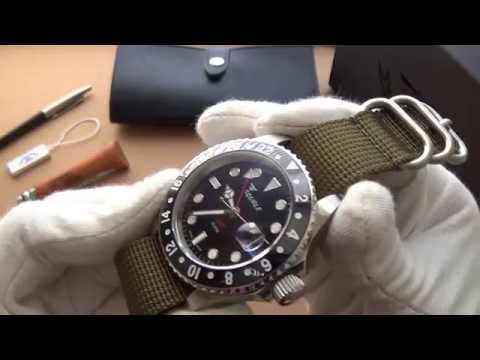 Squale 30 ATMOS Ceramic GMT Review - The Best Swiss Automati