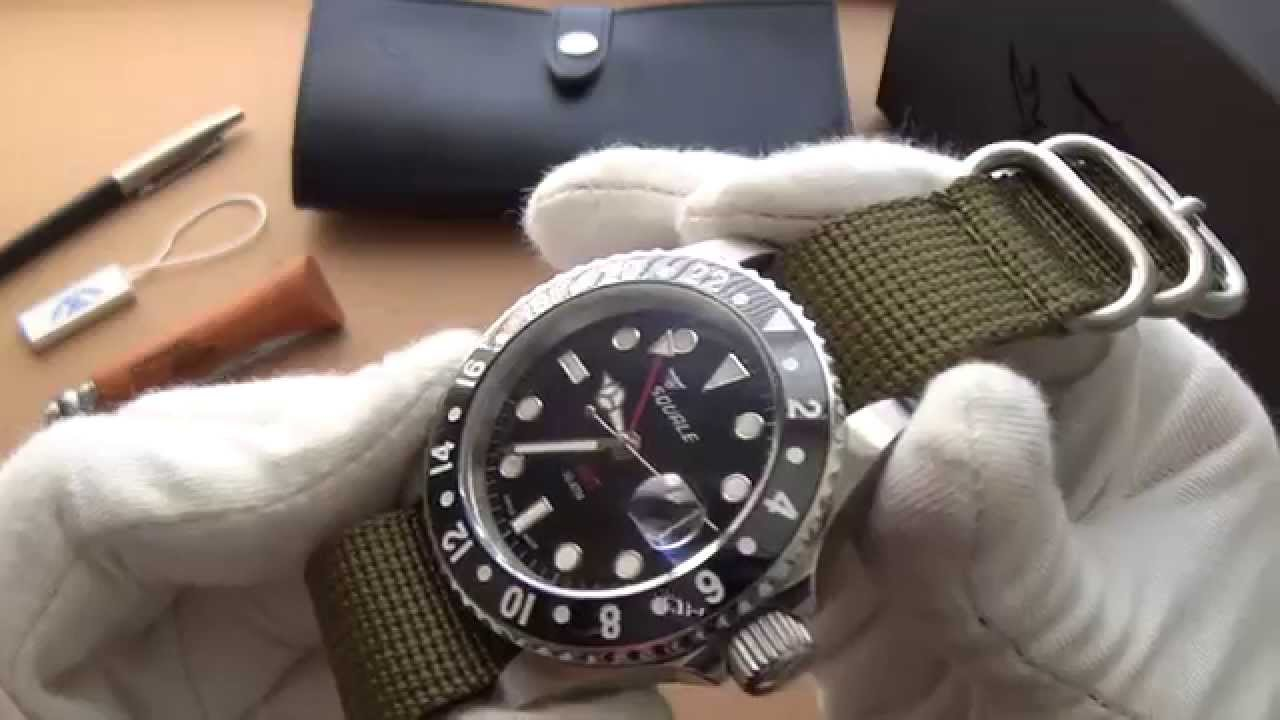 bracelet tropic atmos squale watches sel gmt ceramica