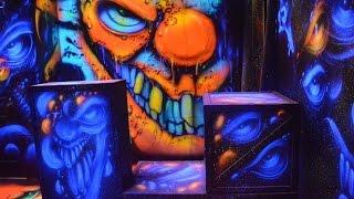airbrushing at houston terror dome 2017